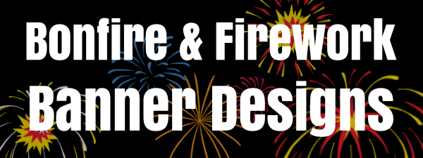Bonfire Night Banners