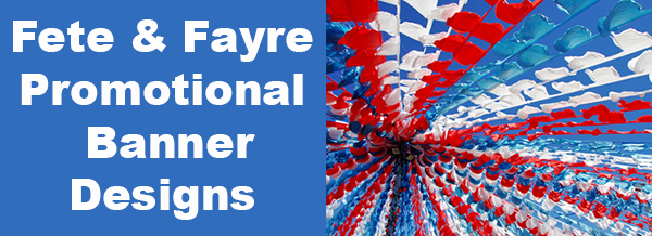 Fayre and fete banners