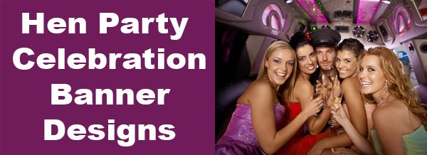 Hen Party Banners