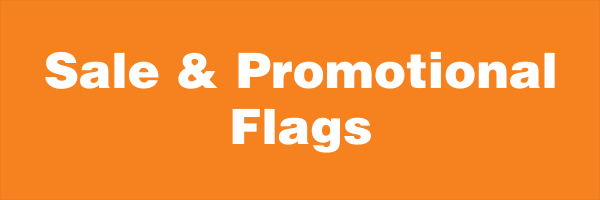 sale and promotional flags
