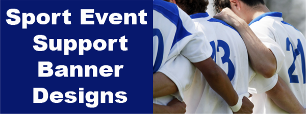 Sport Support Banners