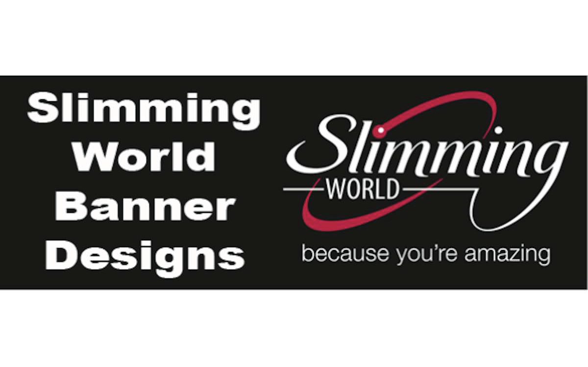 Slimming World Banners Print A Banner Pvc Banners For