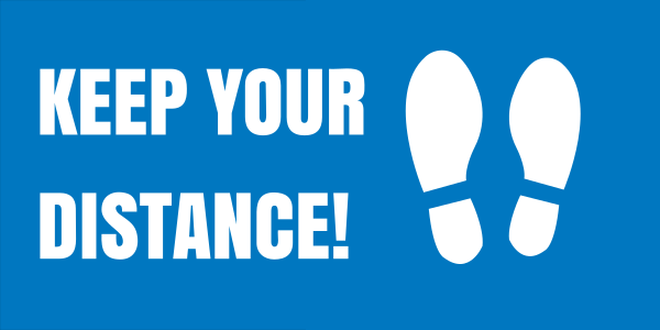 Rectangular_keep_your_distance - design template - 1016