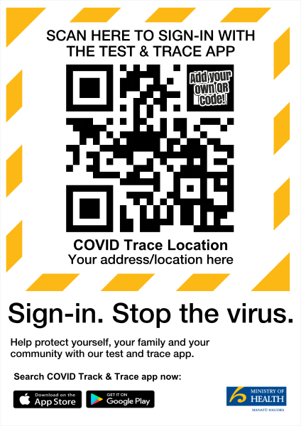 Stop_the_virus_QR - design template - 1031