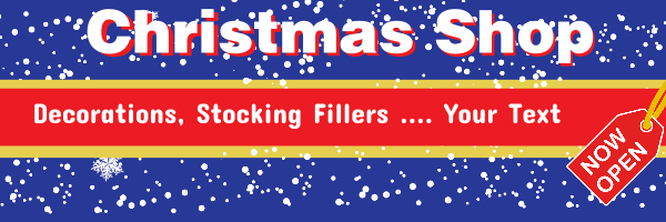 Personalised+Christmas+Stocking+Fillers+Banner - design template - 104