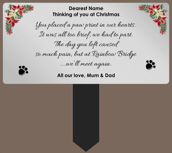 Pet_Memorial_Plaque - design template - 1072