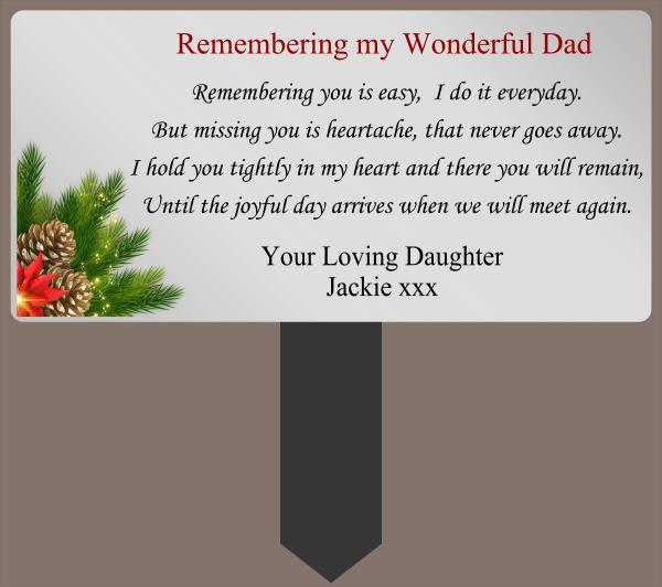 Dad_Memorial - design template - 1074