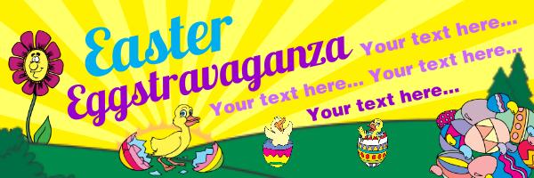 Personalised+Easter+Egg+Hunt+Banner - design template - 110