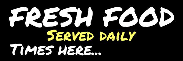 Personalised+Fresh+Food+Banner+ - design template - 127