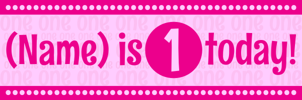 Personalised+Children%27s+Birthday+Banner - design template - 128