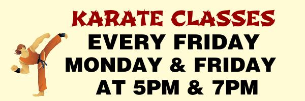 Personalised+Karate+classes+Banner+ - design template - 179