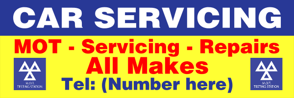 Personalised+Car+Servicing%2C+Repair+and+MOT+Banner - design template - 187
