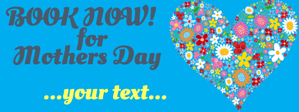 Personalised+Mothers+Day+Banner - design template - 188