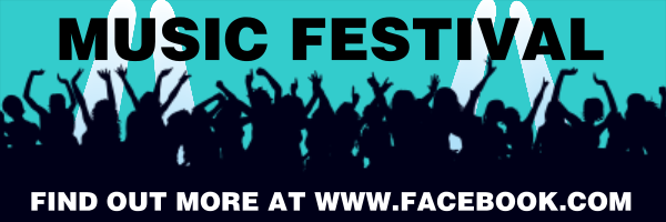 Personalised+Music+Festival+Banner+ - design template - 194
