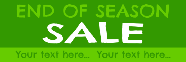 Personalised+End+Of+Season+Garden+Centre+Sale+Banner - design template - 235