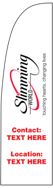 Slimming World Flags Print A Banner Pvc Banners
