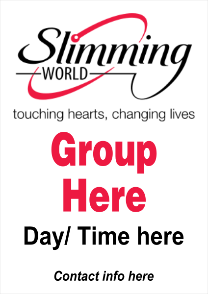Slimming+World+Poster - design template - 249