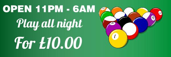 Personalised+Pool+Billiards+Club+Banner - design template - 252