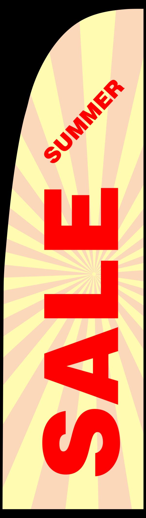 Summer_sale_Flag - design template - 269