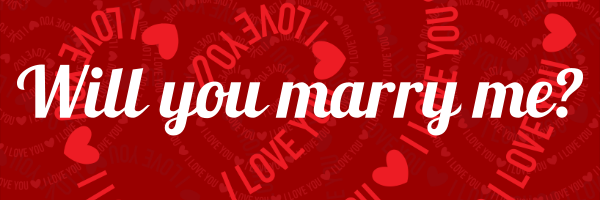 Personalised+Will+You+Marry+Me+Engagement+Banner+ - design template - 322