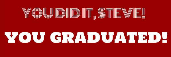 Personalised+Graduation+Banner+ - design template - 330