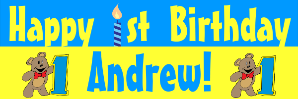 Personalised+Children%27s+Birthday+Banner - design template - 4