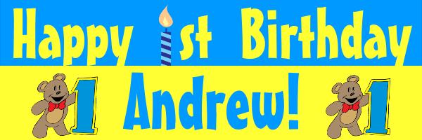 Personalised+Children%27s+Birthday+Banner - design template - 4