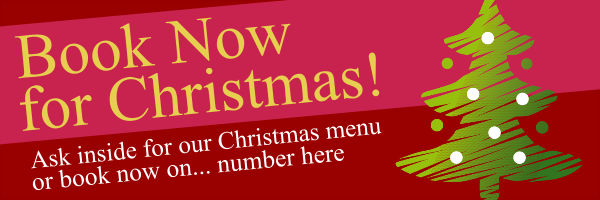 Personalised+Christmas+Pub+and+Restaurant+Bookings+Banner - design template - 48