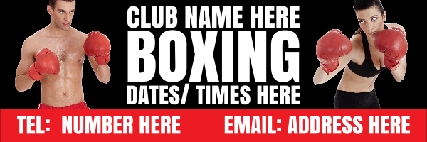 Personalised+Boxing+Banner+ - design template - 51