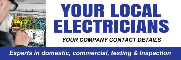 Electrician - design template - 551