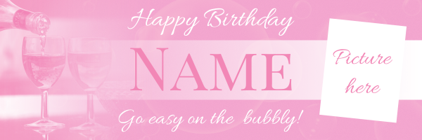 Personalised+Celebration+Birthday+Banner - design template - 554