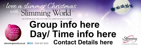 Christmas+Personalised+Slimming+World+Banner - design template - 683