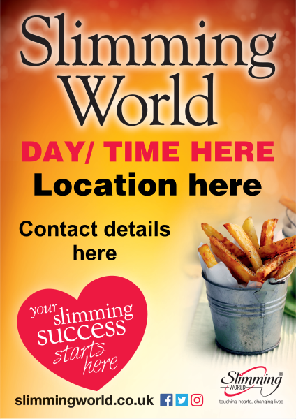 Orange+Slimming+World+Poster - design template - 688
