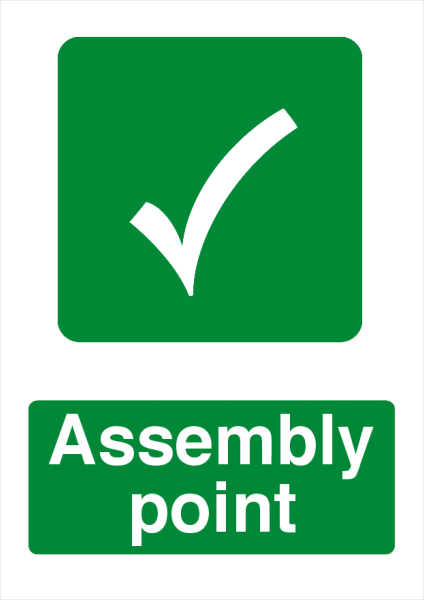 Assembly+Point+Safety+Sign - design template - 724