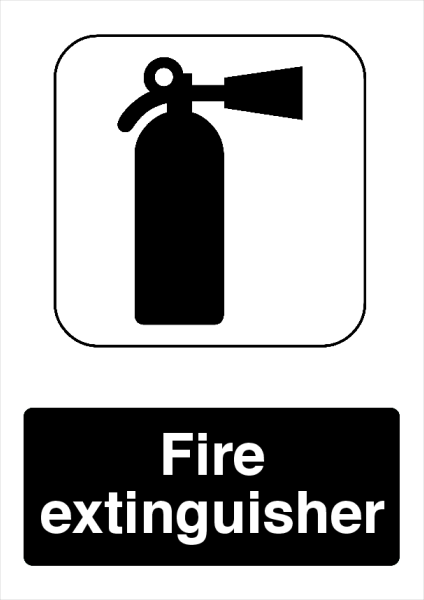 Fire+Extinguisher+Printed+Sign - design template - 733