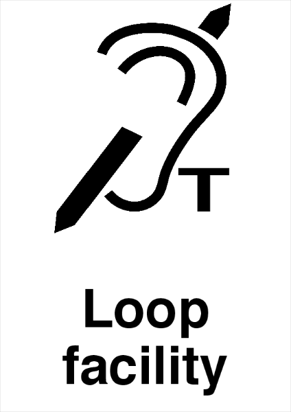 Loop+Facility+Printed+Sign - design template - 736