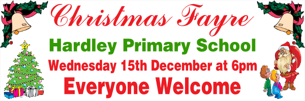 Personalised+Christmas+Fayre+Banner - design template - 75