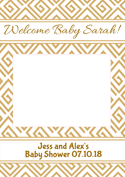 New+Born+Baby+Selfie+Frame - design template - 781