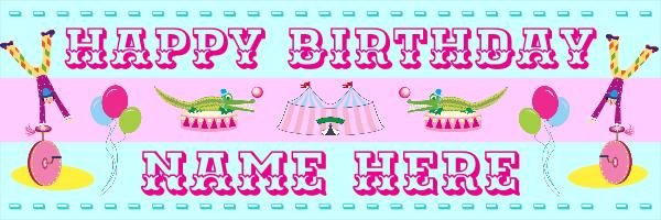 Personalised+Children%27s+Birthday+Banner+ - design template - 81