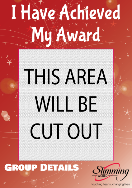 Slimming+World+Award+Selfie+Frame - design template - 817