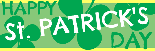 Personalised+St+Patricks+Celebration+Banner - design template - 84