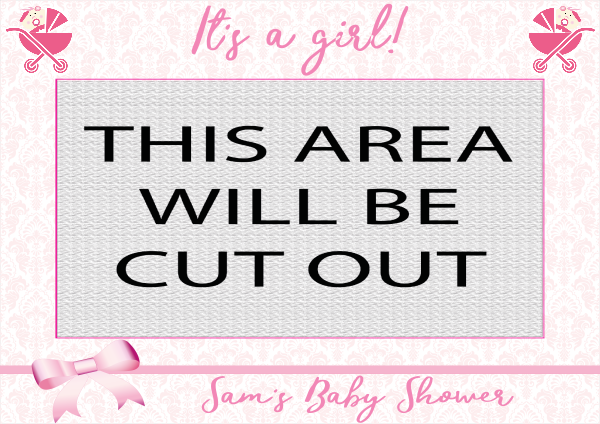 Baby_Shower_Girl - design template - 884