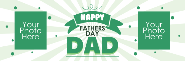 Custom+Sunburst+Fathers+Day+Banner - design template - 921