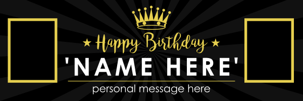 Crown_Birthday_Design - design template - 933