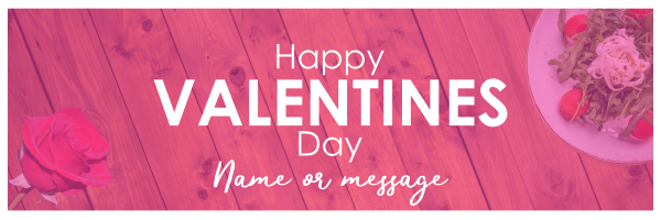 Custom+Valentines+Dinner+Banner - design template - 953