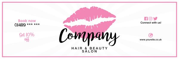 Custom+Lips+Beauty+Banner - design template - 966