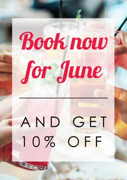 Book+now+for+June+Custom+poster - design template - 987